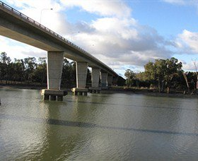George Chaffey Bridge in Buronga
