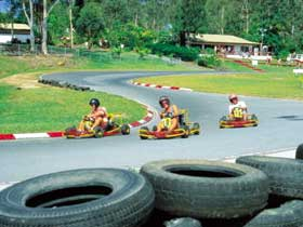 Big Kart Track, Landsborough